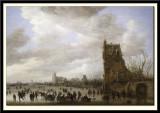 Skating Scene, 1632