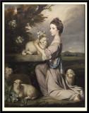 Lady Mary Leslie, 1764