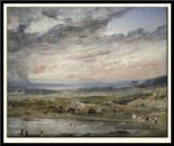 Hampstead Heath with Pond and Bathers, 1821