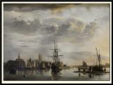 View of Dordrecht, 1652-53