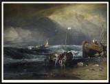 Coast scene with Fishermen,1803