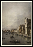 The Grand Canal, Venice. Church of St Lucia  c.1755