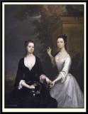 Lady Elizabeth and Lady Henrietta Finch, 1730-31