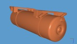 Chassis Mount Fuel Tank for TK Genset