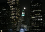 The Moon in the City, NYC