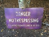 ACL No Trespassing Sign