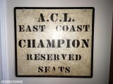 ACL East Coast Champion Sign