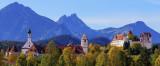 Hohes Schloss and Monestary