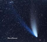 Comète Hale - Bopp 1997 L'année que ma fille Veronyk est venue au Monde