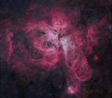 Eta Carina nebula starless version