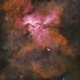 NGC6188 Nebula