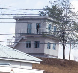 North Korean Observation Building (Watching Us)