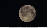 Full moon on a sunday