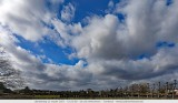 Stormy weather today, beautiful cloud formations moving quickly