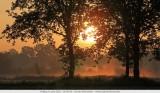 Sunrise in Turnhout (Belgium)