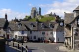 Corfe Castle, Purbeck, Dorset (Wills)