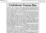 Aaron Scales Cockerham of Surry VA age 100