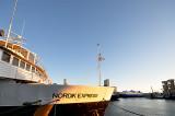 le navire de service sur la Côte Nord