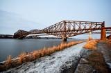 Bien rouillé ce pont de Québec