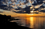 L'aube à l'Ile d'Orléans
