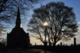 L'arbre et l'église, St-Jean