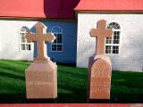 les deux croix de Ste-Famille