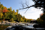 Les chutes de Ste-Agathe de Lotbinière en automne
