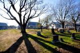 L'église de Beaumont vu du cimetière