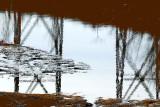 Tracel reflet dans la rivière Cap Rouge