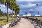 along the Water Park in Charleston