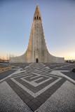 Hallgrímskirkja-Reykjavik