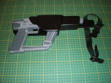 Visiteur extra terreste fusil laser étuit  /Alien visitor laser gun holster