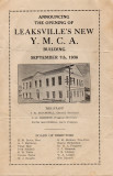 Opening of the new Leaksville YMCA September 7, 1936
