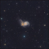 M51 In a wide field