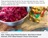 Kahaiua Jerky Poke & Provisions - Best Poke in Hawaii