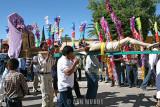 Procession of the 400 Cristos in Cadereyta