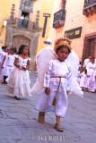 Children in procession