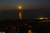 Night at dead sea