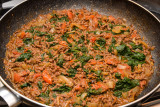 Beef Mince and Spinach Curry