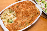 Macaroni Cheese with Chicken and Broccoli