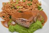 Seared Tuna with Wasabi Butter Sauce