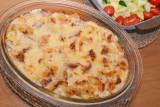 Ham, Potato and Cauliflower Gratin