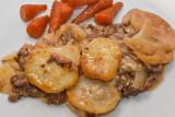 Mince and Potato Hotpot