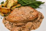 Creamy Tarragon Mushroom Chicken