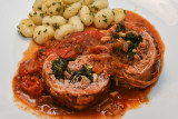 Slow-Roast Breast of Lamb with Gnocchi