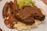 Braised Ox Cheeks with Shallots