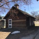 Log One Room Schoolhouse