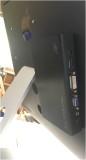Interface mounted - 2 hole thorugh iMac back for wiring