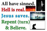 All Have Sinned sign 36 x 24.jpg Hell Is Real