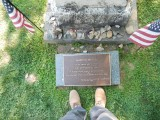 Aaron Burr grave, Princeton, New Jersey (2018)